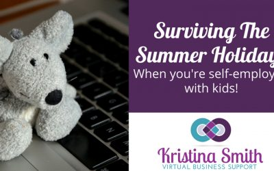 Surviving The Summer Holidays When You're Self Employed With Kids