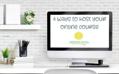4 Easy Ways To Host Your Course Online