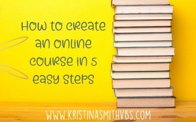 How to create an online course in 5 easy steps